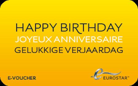 anniversaire eurostar
